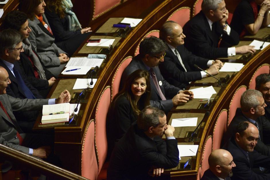 Italy Senate, first session of the XVII legislature