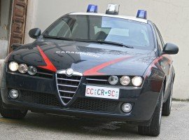 Carabinieri: operazione antimafia in Provincia de L'Aquila