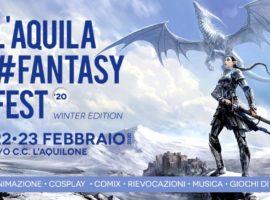 Al via la V edizione di L'Aquila Fantasy Fest Winter