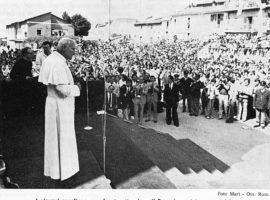 Quarant'anni fa Giovanni Paolo II visitava il Santuario di Roio