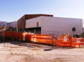 La nuova scuola di Arischia in work in progress