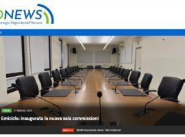 Consiglio Abruzzo: la comunicazione è sempre più tech