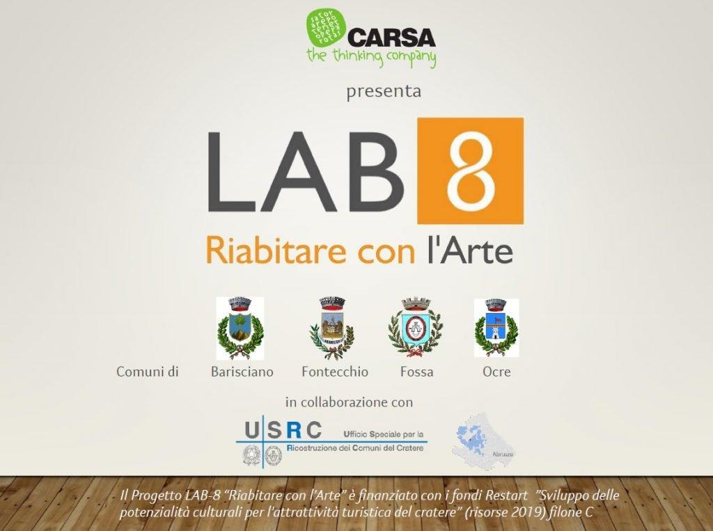 lab8 riabitare con l'arte