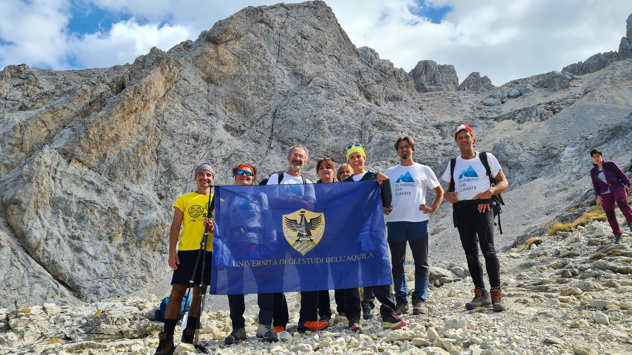 Climbing for Climate Univaq