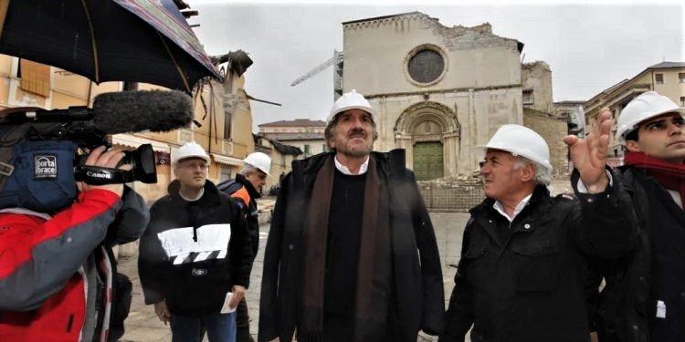 Gigi Proietti e Federico Fiorenza