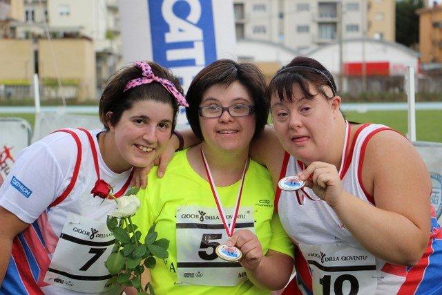 Il podio paralimpico 2019