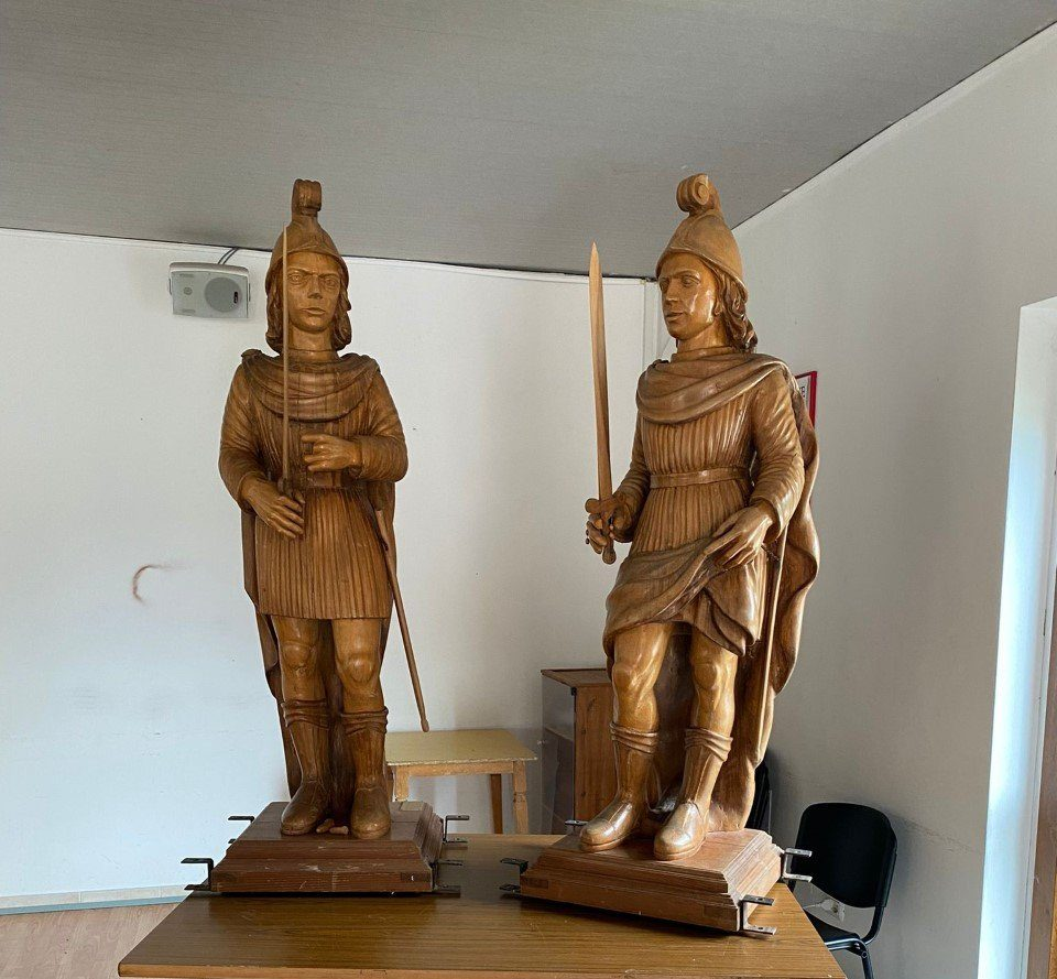 Santissimi Nicando e Marciano protettori di Santa Rufina di Roio