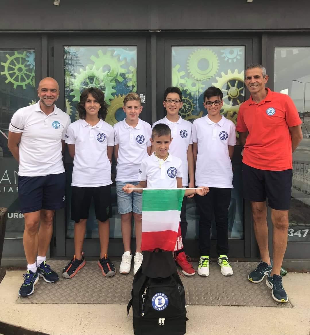 Torrione Volley alla finale di Coppa Italia S3 Under 12