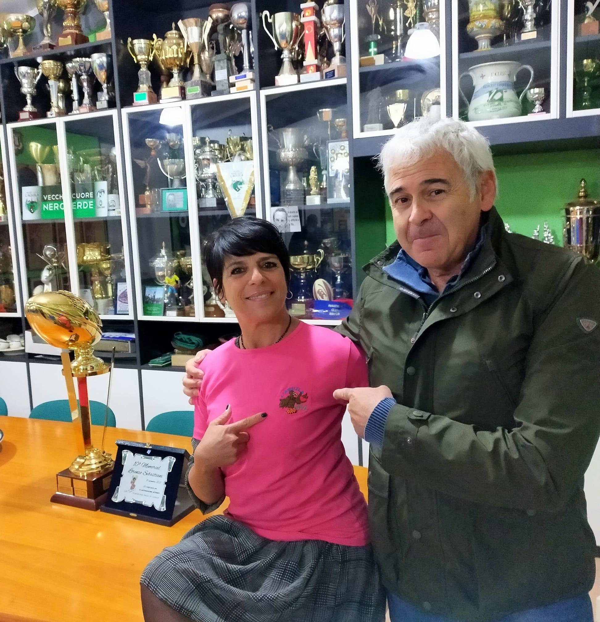 Carla Ianni e Giorgio Paravano