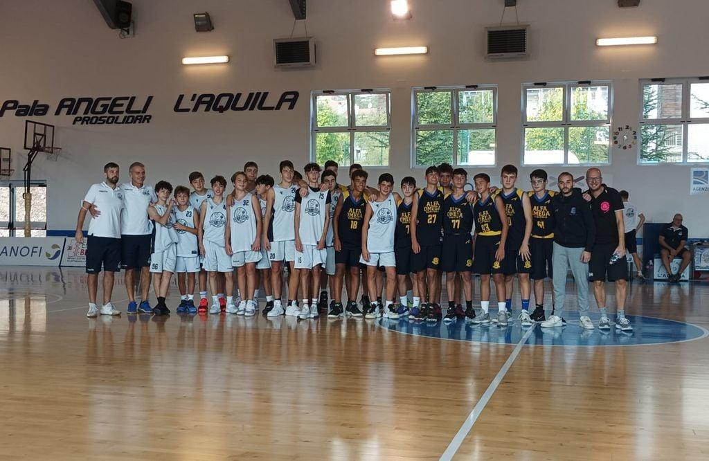 Nuovo Basket Aquilano e Alfa Omega