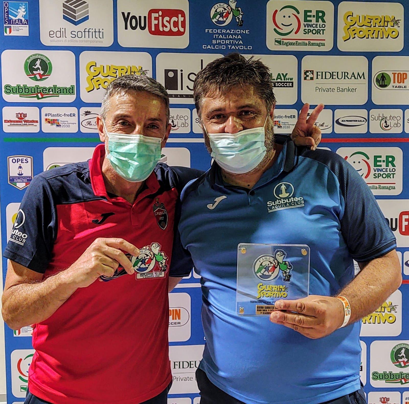 Paolo Baglioni e Stefano Pacitti